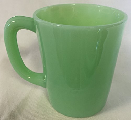 - Jadeite Jade Glass Coffee Mug - USA - American Made