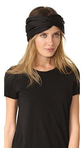 Eugenia Kim Women's Malia Turban Headband, Black, One Size