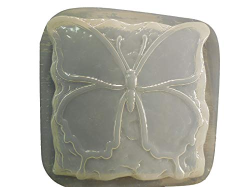 Stone Look Butterfly Stepping Stone Concrete or Plaster Mold ()