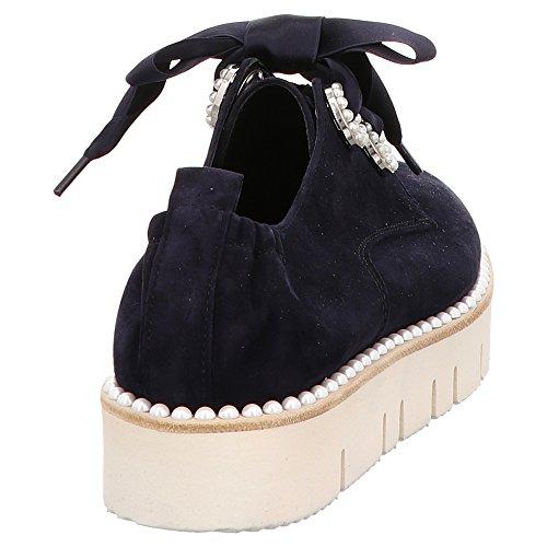 Sneaker 71 688 amp; Kennel Blau Donna Schmenger Blu 10330 Blau ExIXZwPZ