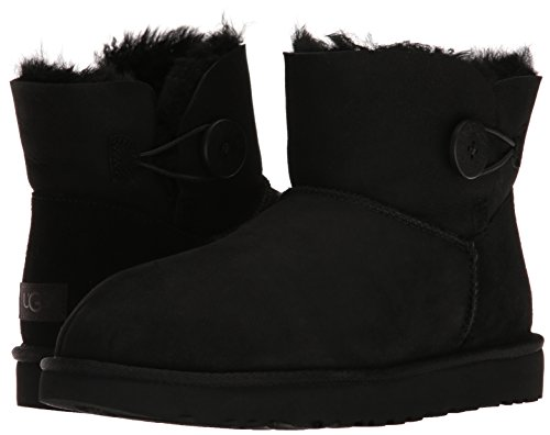 Ii Australia Ugg Women Mini Black Button Bailey 42 Stiefel IwZgqw