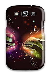 Galaxy High Quality Tpu Case/ Abstract Pc Butterfly 3d ZfPARZa4610JBTAf Case Cover For Galaxy S3 by lolosakes