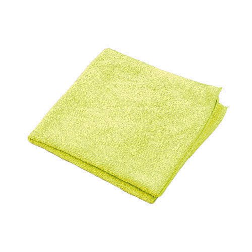 16 x 16 HOSPECO 16 x 16 Microworks 2511-Y-DZ Value Microfiber Towel Yellow Pack of 12