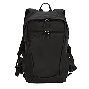 YuHan Multi-function Waterproof Anti-shock SLR/ DSLR Camera Backpack with 15-Inch Laptop Rucksack Inner Padding, Large, Black