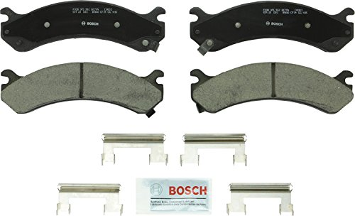 Bosch BC784 QuietCast Premium Ceramic Front Disc Brake Pad Set