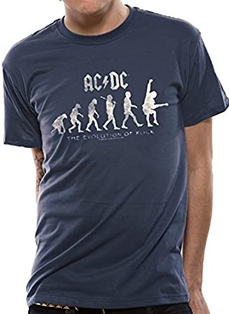I-D-C AC/DC - Evolution of Rock Camiseta para Hombre: Amazon.es: Ropa y accesorios