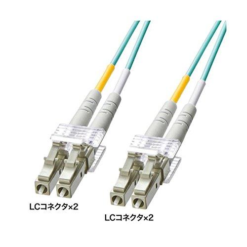 サンワサプライ OM3光ファイバケーブル HKB-OM3LCLC-10L AV デジモノ パソコン 周辺機器 ケーブル ケーブルカバー その他のケーブル ケーブルカバー 14067381 [並行輸入品] B07GTW6L8M