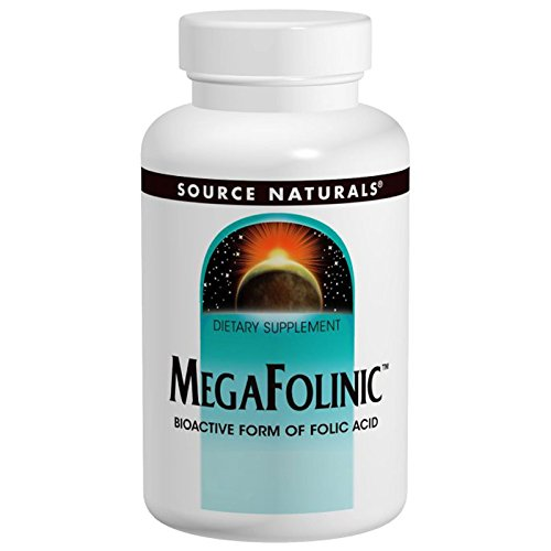 Mega-folinic, 120 Tabs by Source Naturals (Pack of 4) by Source Naturals
