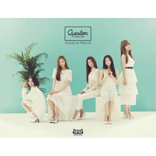 CLC - [ QUESTION ] 2nd Mini Album CD + Postcard + Booklet K-POP (Question Booklet)