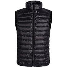Melldci Men's Sportswear Packable Puffer Down Jacket Vest