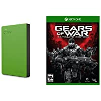 Seagate Game Drive for Xbox 2TB and Gears of War - Ultimate Edition - Xbox One