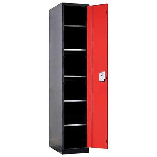 Fort Knox Locker Cabinet Single Door 6 Openings 24