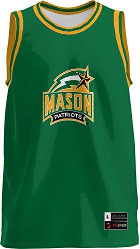 - ProSphere George Mason University Boys' Replica Basketball Jersey - Retro FFAA