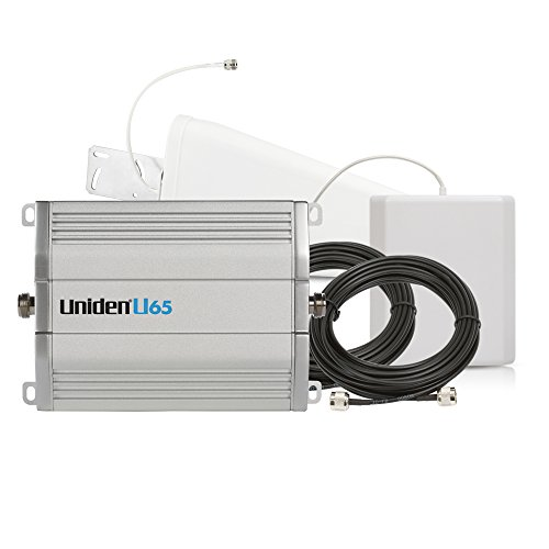 Uniden U65 Cellular Booster Kit with Outdoor Yagi 11 Directional & Indoor Panel Directional Antennas & 40ft U5D & 15ft U5D Coaxial Cables - Cell Amplifier Repeater (Band Nextel Amplifier Dual)