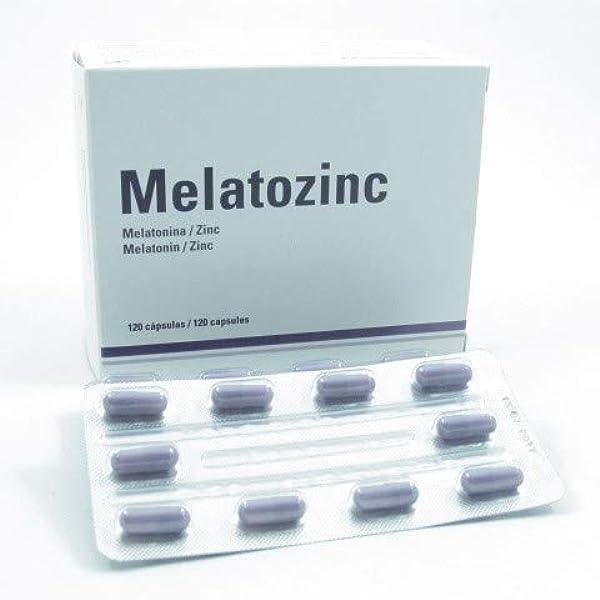 Melatozinc Melatozinc 1/10Mg 120 Cap 100 g: Amazon.es: Salud y cuidado personal