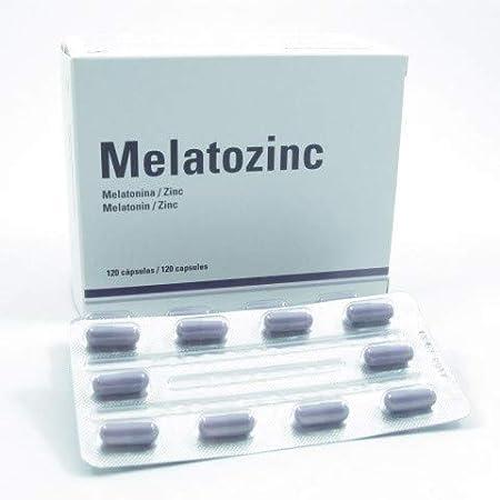 MELATOZINC 120 CAP