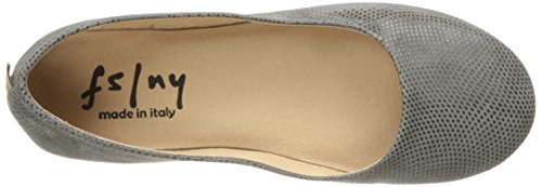 French Sole Womens Zeppa Slip on Shoes Taupe Wave XRqSgSK