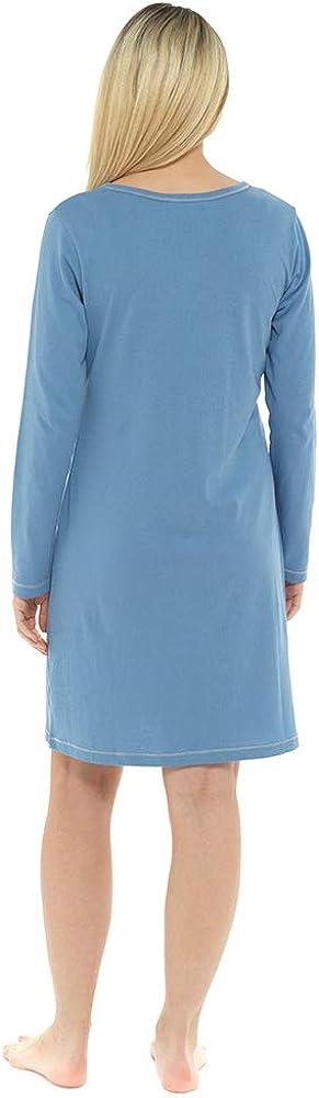 Dannii Matthews Ladies Cotton Nightdresses Quality Night Shirts