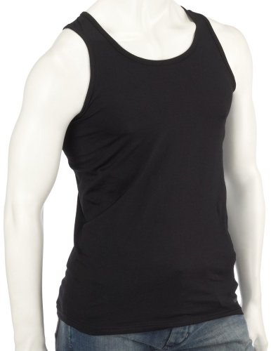 Fruit of the Loom Athletic Unterhemd, schwarz, Gr??e: L, 1 1098 U36 L