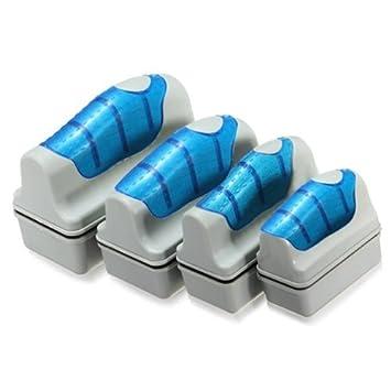 Magnético Acuario Pecera de cristal algas rascador limpiador flotante Clean Cepillo Herramienta: Amazon.es: Productos para mascotas