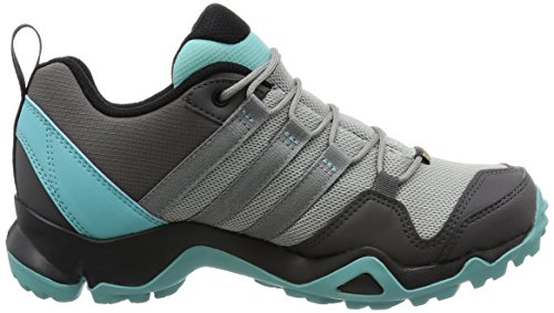 adidas Women's Terrex Ax2r GTX W Low Rise Hiking Boots, Blue, 5 UK Grey (Grpumg / Grpuch / Mensen)