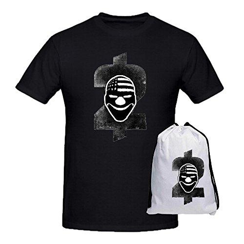 tikita-payday-2-game-logo-crew-neck-fashion-t-shirt-for-mens-black