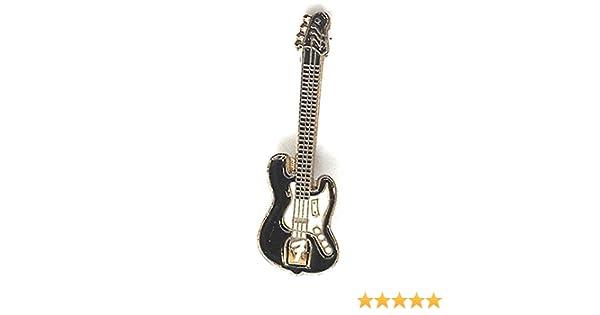Esmalte de Metal Pin de broche Rock Fender guitarra eléctrica: Amazon.es: Hogar