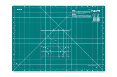 Olfa CM-A1 | Self-Healing 2-Sided Cutting Mat Imperial/Metric Grid | 920 x 610mm by OLFA