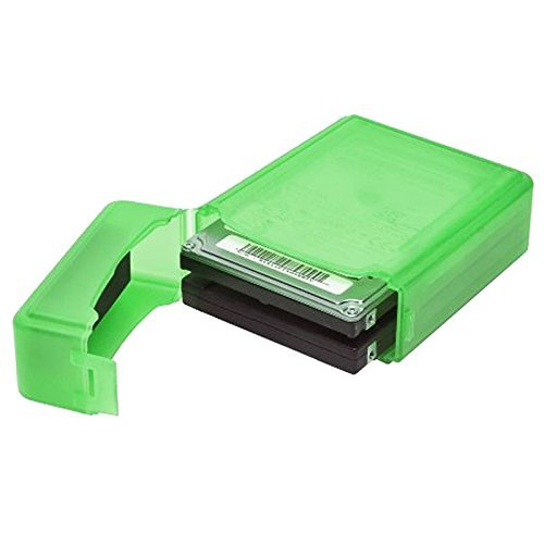 storage box - TOOGOO(R)2.5 Inch IDE SATA HDD Hard Drive Storage Box Protective Case - Green