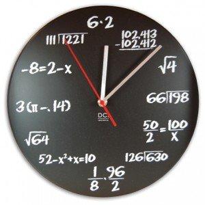 Pop Math Quiz Clock
