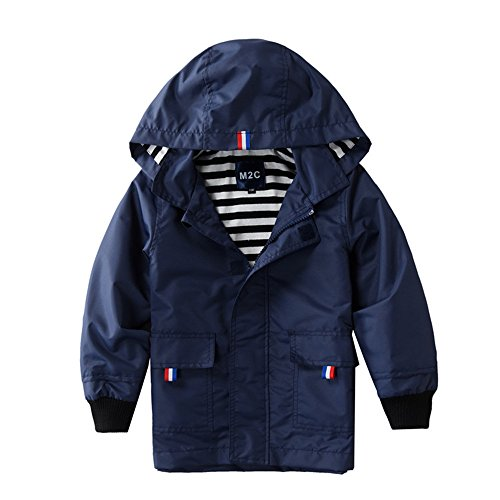 Hooded Boys Raincoat - 6