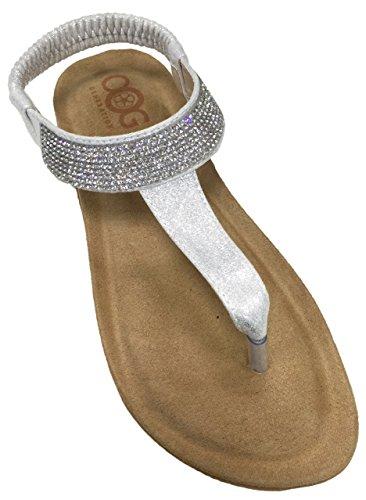 OOG Sommer Sandale Strassstein Damen Schuh Sandaletten