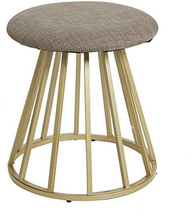 Silverwood Vanity Stool, Gold