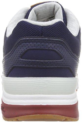 Chaussures Blanc Balance Bleu Marine Homme Rouge de Ml155 New Course Bleu Epqwgg