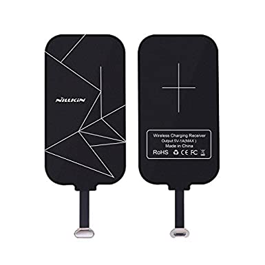 nillkin-wireless-charger-receiver,-magic-tag-qi-wireless-charger-charging-receiver-patch-module-chip-for-samsung-tablet,-kindle,-huawei-mate-8-and-other-micro-usb-narrow-side-up-qi-enabled-devices by nillkin