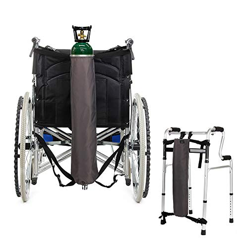 (Oxygen Bag Backpack Holder Wheelchair Walker Portable Oxygen Tank Carrier
