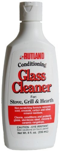 Rutland Hearth and Grill Conditioning Glass Cleaner, 8 Fluid Ounce by Rutland