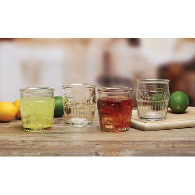 Drink Design 14 oz. Double Old Fashioned Glass (Set of 4)