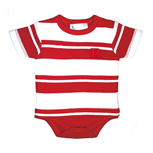 fan products of Rutgers Scarlet Knights NCAA Newborn Baby Rugby T-Shirt Creeper (12 Months)