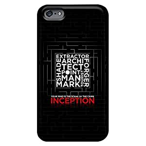Cases phone carrying skins High Quality Iphone case Eco Package iphone 4 /4s - inception dark poster
