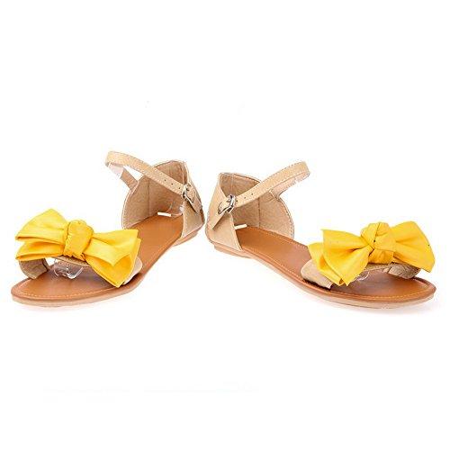 Giallo Donna Ballerine Yellow 35 AdeeSu 8BSqXxE