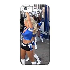 Premium Durable Detroit Lions Cheerleaders Fashion Tpu Iphone 5c Protective Case Cover