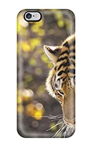 Sanp On Case Cover Protector For Iphone 6 Plus (beautiful Tiger)