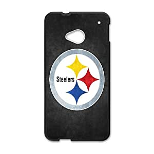 Pittsburgh Steelers HTC One M7 Cell Phone Case Black Mifrx