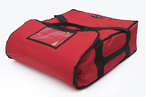 Polyester Insulated Pizza / Food Delivery Bag 16  18 Professional Pizza Delivery Bag- Moisture Free- Holds Multi Pizza Boxes.