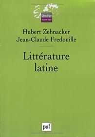 Littérature latine par Jean-Claude Fredouille