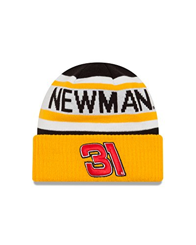 - NASCAR Richard Childress Racing Ryan Newman Biggest Fan 2.0 Knit Beanie, One Size, Black