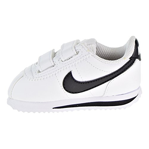 102 Basic Nike Chaussons tdv Sl white 22 Eu Bébé Blanc black Mixte Cortez vr55qnx6g
