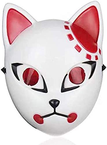 Máscara de Cosplay ZHENYU Demon Slayer para fiesta máscaras de disfraz de Cosplay Kimetsu no Yaiba
