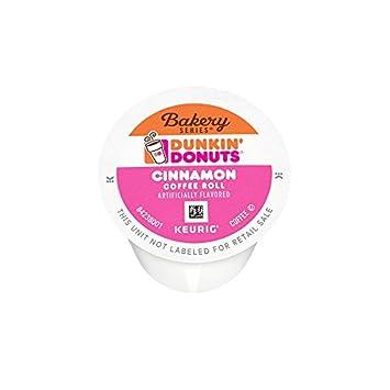 Amazoncom Dunkin Donuts Bakery Series Cinnamon Coffee Roll